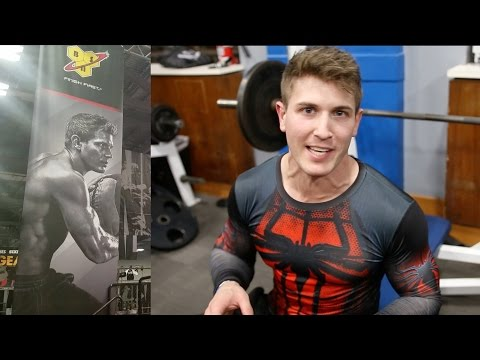 PowerHouse Gym Workout, My Massive BSN Banner & FUN VLOGGING! | Arnold Classic 2017