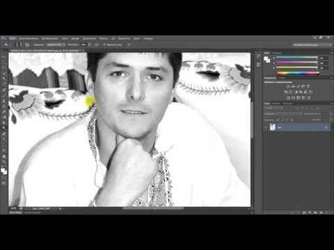 Как убрать тень с фотографии в Photoshop