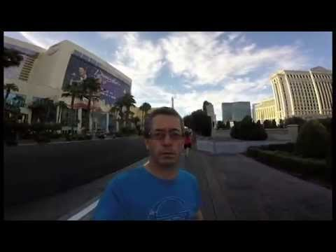 An Irish guy let his dad borrow his GoPro for his trip to Vegas and something funny happens