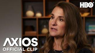 AXIOS on HBO: Melinda Gates on COVID-19's Global Impact (Clip)