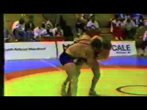 1988 Canada Cup: 100 kg Bronze Dave Shaver (CAN) vs. John Matile (CAN)