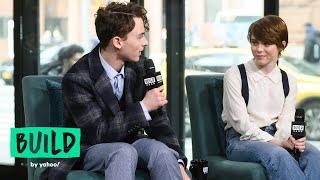 "Sophia Lillis & Wyatt Oleff On Their New Netflix Dramedy, ""I Am Not Okay with This"""
