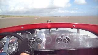 Final run Dean Lowe RPU at Pendine Sands, VHRA Hot Rod Races on 5 July 2015