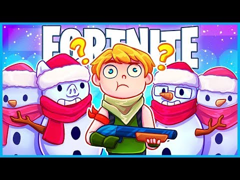 *NEW* SNEAKY SNOWMAN is HILARIOUS in Fortnite: Battle Royale! (Fortnite Funny Moments & Fails)