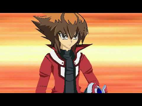 yugioh gx tag force 3 English gameplay jaden vs aster