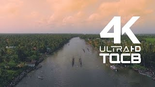 Nehru Trophy Boat Race 2015 4k (Close Range Aerial Cinematography)