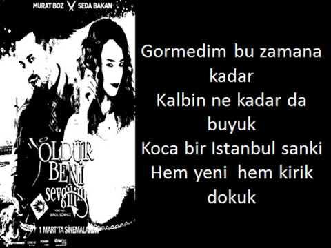 Murat Boz -  Öldür Beni Sevgilim lyrics
