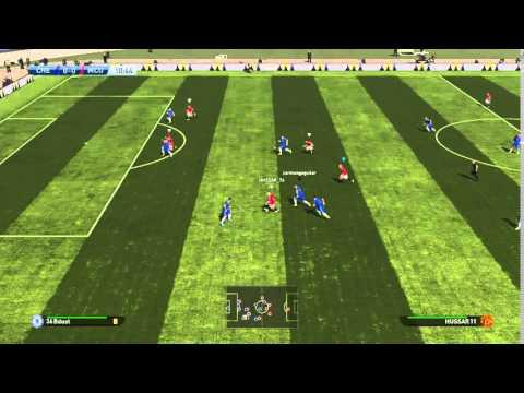 Pes 16 Huss assist, Mara goal