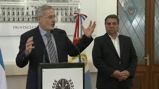Conferencia de prensa ministro Saín