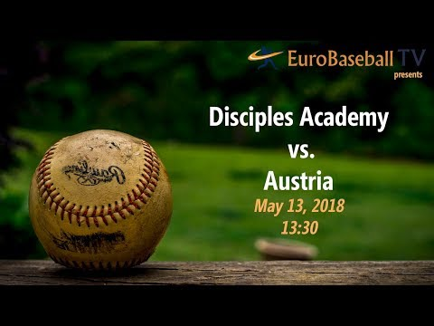 DISCIPLES BASEBALL ACADEMY vs. U18 Austria