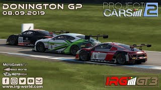 Project Cars 2 - IRG GT3 - Donington GP