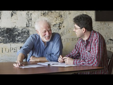 Michael Ondaatje and Miroslav Penkov, Rolex Mentor and Protégé in Literature, 2014–2015