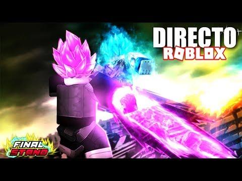 UN DIA DE DIRECTO EN EL ESPACIO!!! - ROBLOX DRAGON BALL Z FINAL STAND