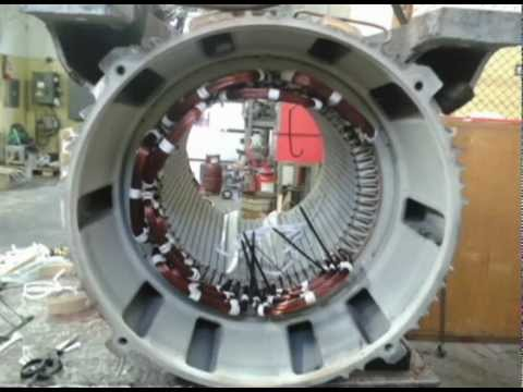 Electric Motor Repair Rewind Youtube