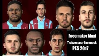 PES 2017 TRABZONSPOR FACEPACK / BY FACEMAKER MAXİ #6