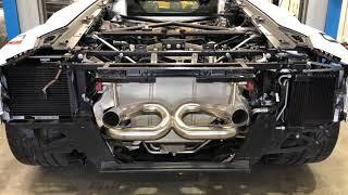 BRE - Lamborghini Aventador SVJ Inconel Exhaust