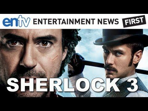 Sherlock Holmes 3 Scripted, Robert Downey Jr & Jude Law On Board! ENTV