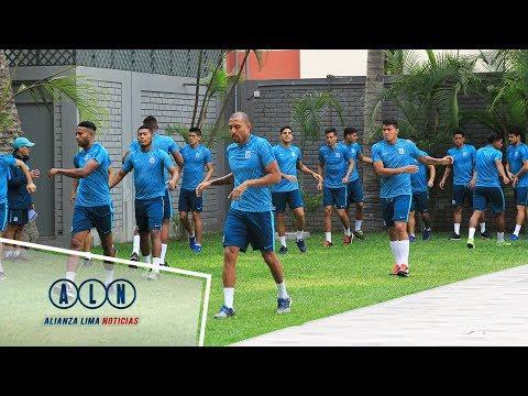 Alianza Lima realizó último entrenamiento previo viaje a Cutervo