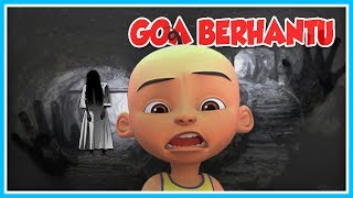 UPIN IS STUCK IN CAVE GHOST PLACE OF THE PESUGIHAN!! OPAH SAD-ROBLOX UPIN IPIN