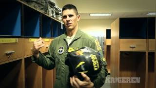 F 35 pilot talks about the helmet