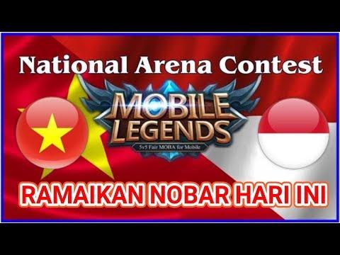 🇻🇳 VIETNAM VS 🇲🇨 INDONESIA NATIONAL ARENA CONTEST    LIVE MOBILE LEGEND