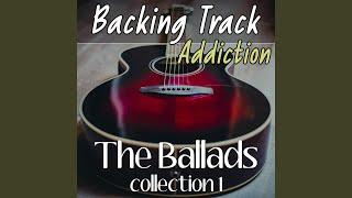 Beautiful Ballad Backing Track in D major B1