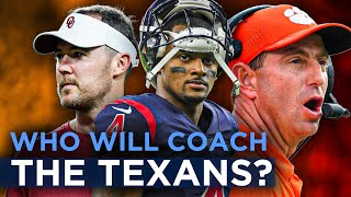 Here are the hottest names connected to the Texans coaching search