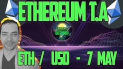 Ethereum (ETH/USD) - Daily T.A with Rocky Outcrop - May 7th - Technical Analysis & Price Predictions
