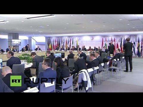 LIVE: Extraordinary ECOFIN meeting on Greece in Riga