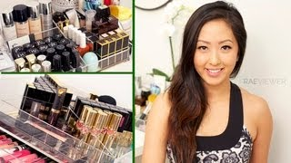 ORGANIZATION: My Makeup Collection & Storage 2013