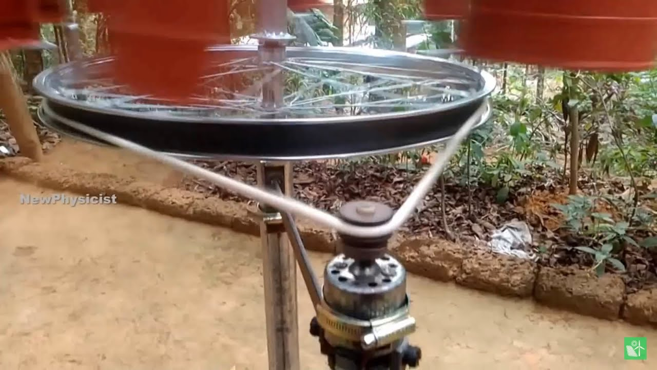 High Speed Vertical Axis Wind Turbine EVER MADE!!
