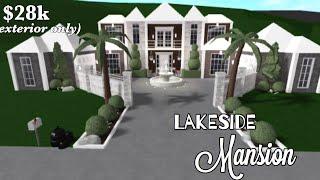 BLOXBURG   Lakeside Mansion Exterior   28k