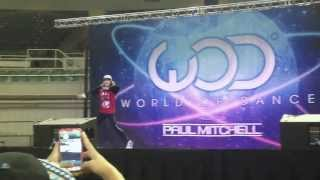Chachi Gonzales @ World Of Dance Hawaii 2013 ||