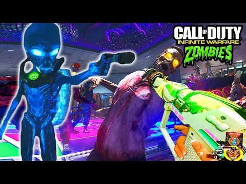 NEW BOSS FIGHT ONLY HALLOWEEN GAMEMODE!!! - INFINITE WARFARE ZOMBIES HALLOWEEN GAMEPLAY