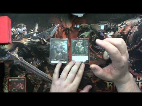World Of Warcraft TCG Tutorial How To Play