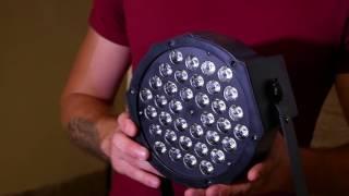 видео купить светодиодный прожектор par