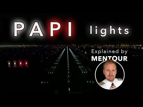 Strange Airport lights - PAPI's