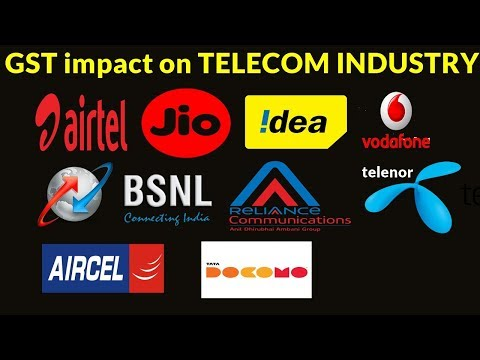 GST impact on Telecom industry