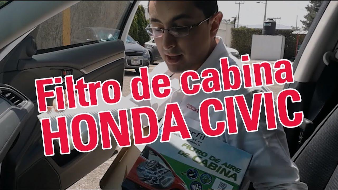 Cambia el filtro de aire de cabina para tu honda civic for Filtro cabina camaro 2016