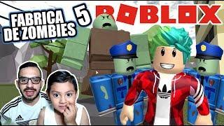 Fabrica de Zombies 5 | Roblox Infection Inc | Juegos Roblox Karim Juega