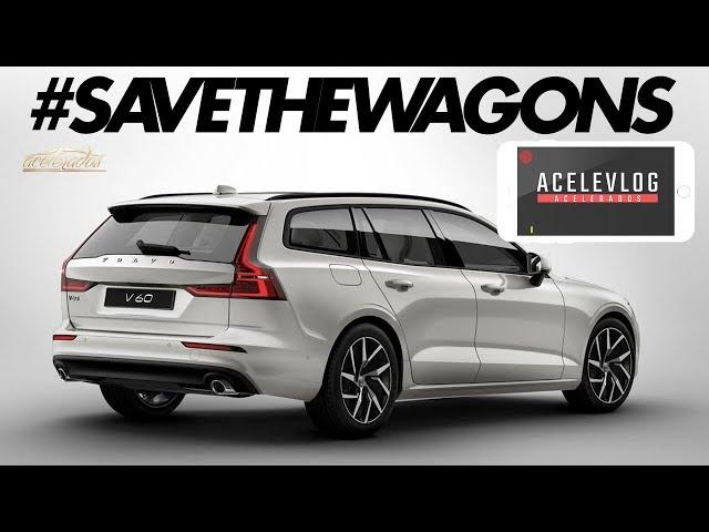 Andamos na Volvo V60, e afinal: perua é melhor que SUV? Bola e Menino respondem - AceleVlog #67