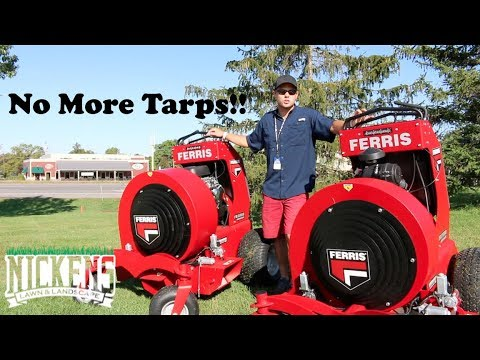 Leaf Removal CAN BE EASY?! Check This Out! Ferris & Billy Goat Equipment