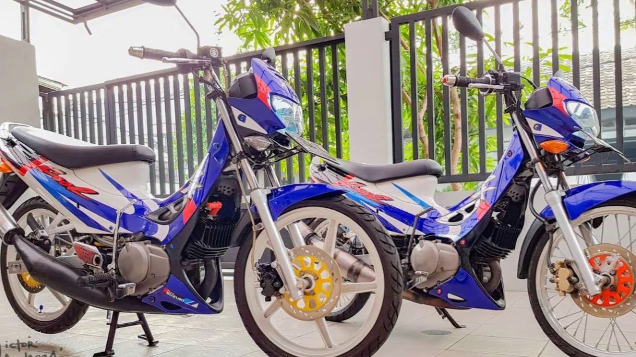 Modifikasi Suzuki RK COOL Motor Ayago 2 Tak JADUL YouTube