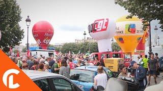 Premier rassemblement contre la Loi Travail de Macron 27 juin 2017, Invalides, Paris