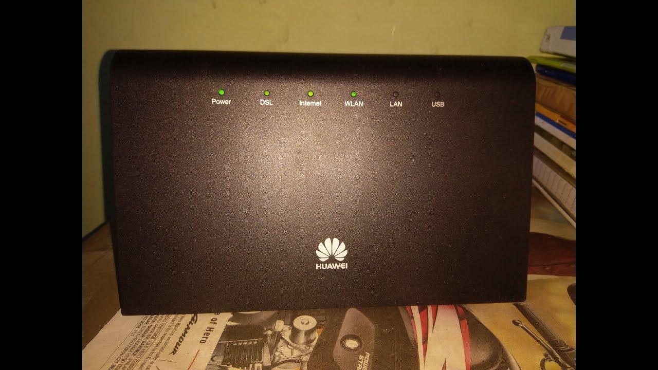 How to Configure Huawei HG633 VDSL Modem For Airtel Broadband | Basic  Configurations | Mathur Tech