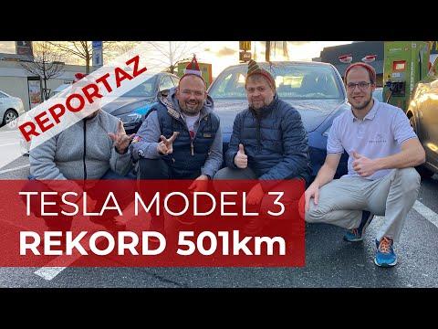 #126 Rekord 501 Km na Autopilota s Tesla Model 3 Long Range | Teslacek
