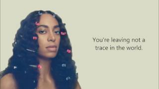 SOLANGE - WEARY (OFFICIAL LYRICS)