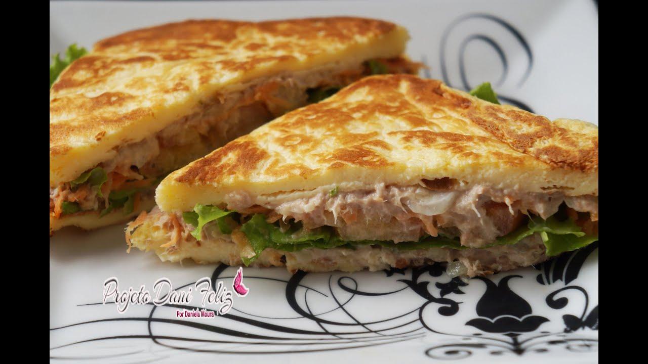 Dieta Dukan Receita Sanduiche Natural De Atum