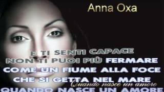 KARAOKE Quando nasce un amore Anna Oxa instrumental originale