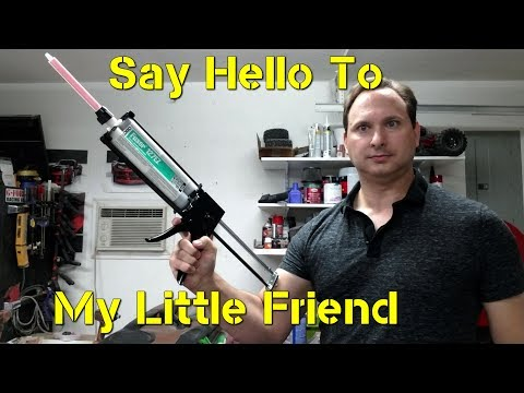 Auto Body Glue Gun - How to bond Fiberglass Panels
